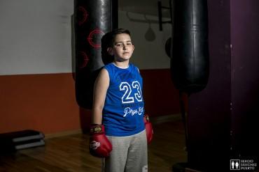 Iván, el boxeador.