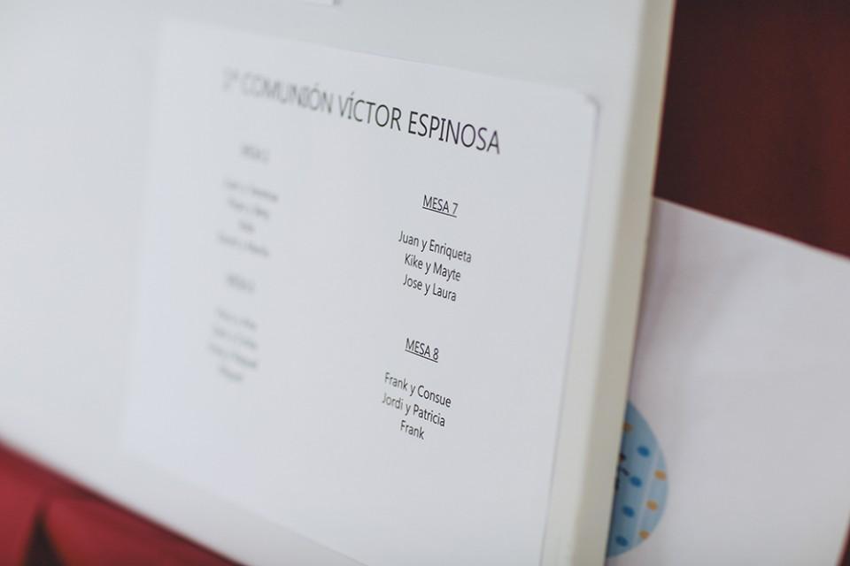 Protegido: comunión Victor